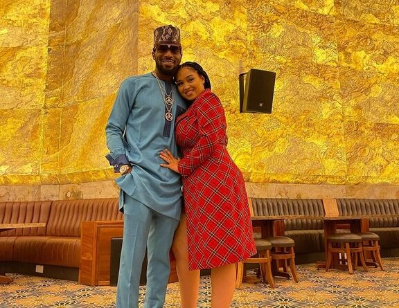 D'banj And His Wife, Lineo Celebrate 5th Wedding Anniversary 1