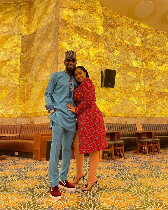 D'banj And His Wife, Lineo Celebrate 5th Wedding Anniversary 2