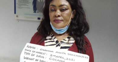 NDLEA Nabs Nigerian Mum-of-3 With 100 Wraps Of Cocaine In Her Private Part 4