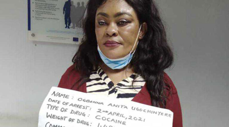 NDLEA Nabs Nigerian Mum-of-3 With 100 Wraps Of Cocaine In Her Private Part 1