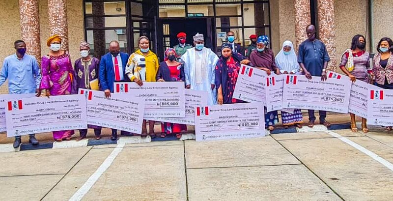 NDLEA: Marwa, Late Officers' Widows Hail President Buhari Over Payment Of Entitlements 10