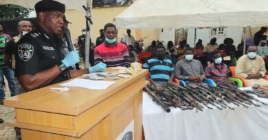 Police Arrest 39 Suspects, Recover 2 RPGs, 13 Ak47 Rifles, 58 Wraps Of Dynamite 4